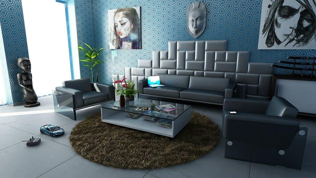 סלון בדירה