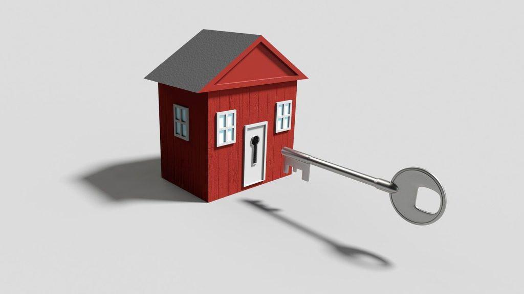 מפתח עם בית